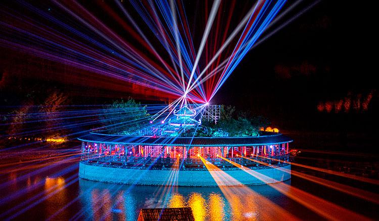 【文旅景区夜游】2020河池首届大型山水实景光影秀