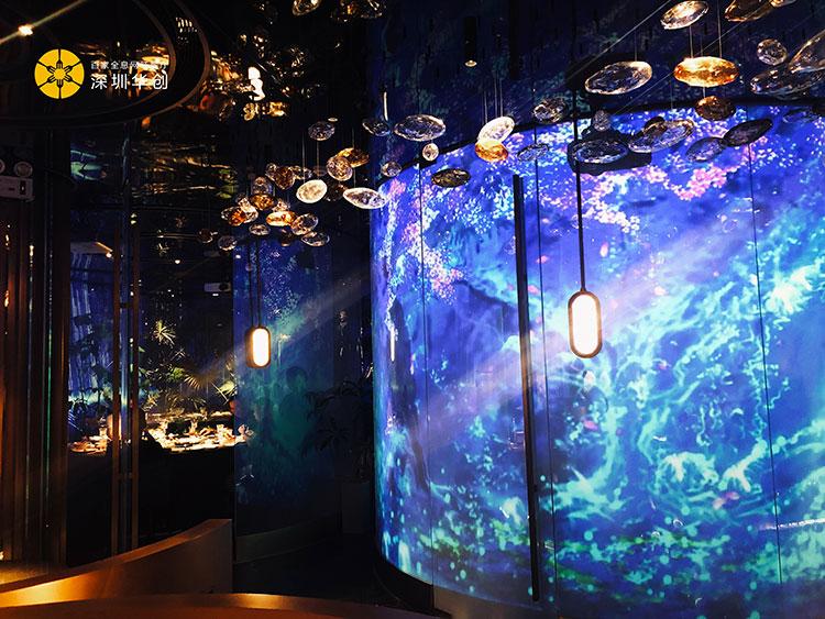 全息投影技术打造的全息餐厅投影