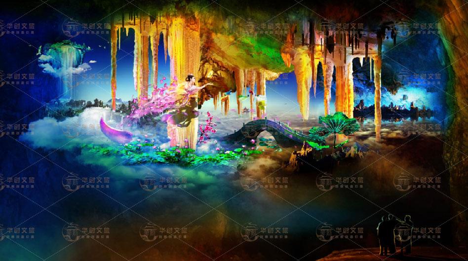 旅游景区全息溶洞投影