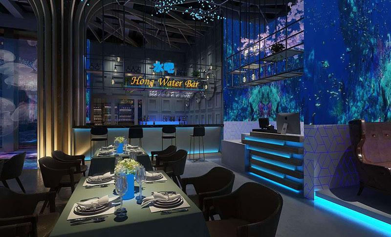 电竞文化+全息影像+餐饮文化,打造全息网红餐厅模式