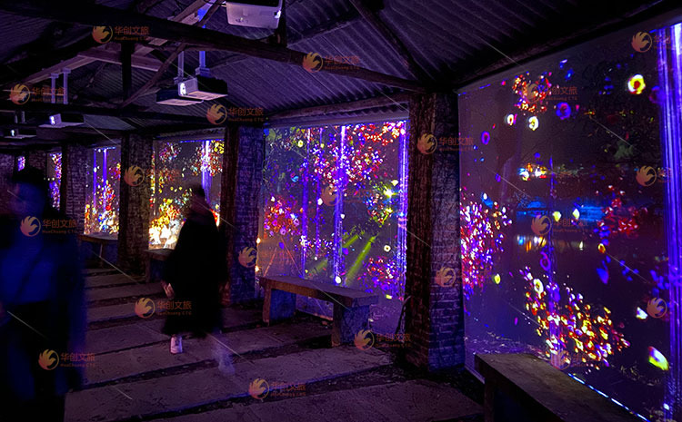 华创文旅打造2020年河池首届景区夜游光影艺术节